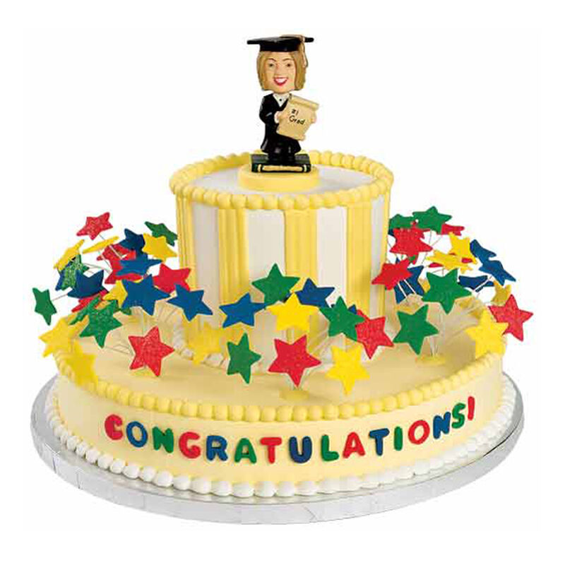 Future Movers and Shakers Graduation Cake image number 0