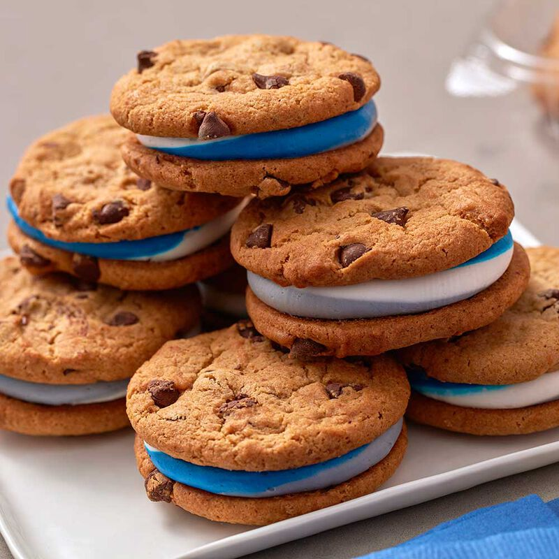 Chocolate Chip Cookie Sandwich Cookies image number 0