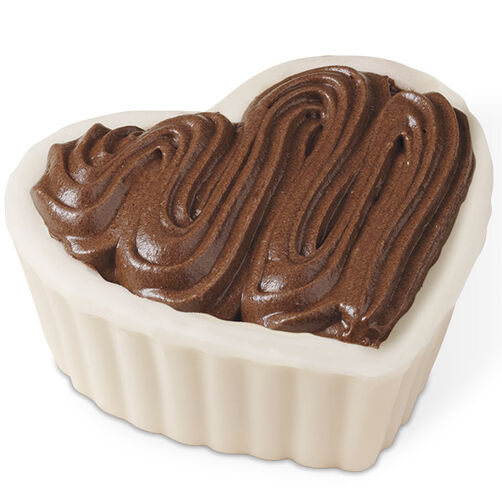 Mousse-Filled Candy Heart Shell