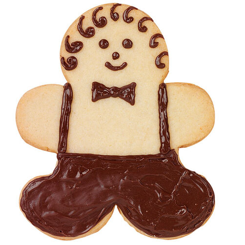 Downtown Gingerbread Boy Cookie