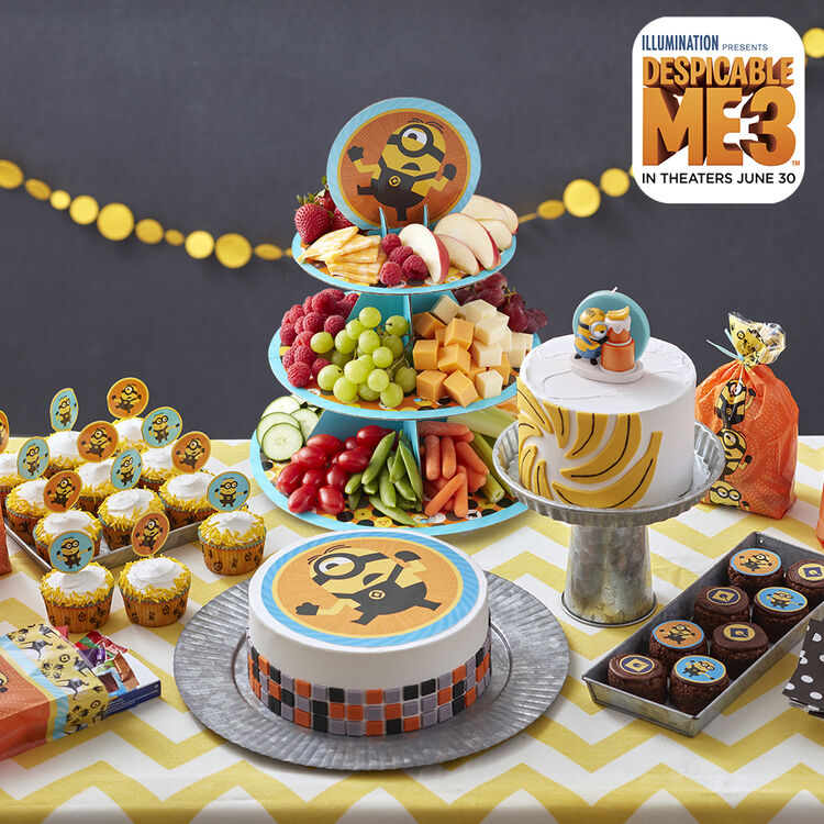 Despicable Me 3 Birthday Party