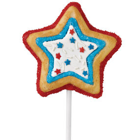 Falling Star Cookie Pops