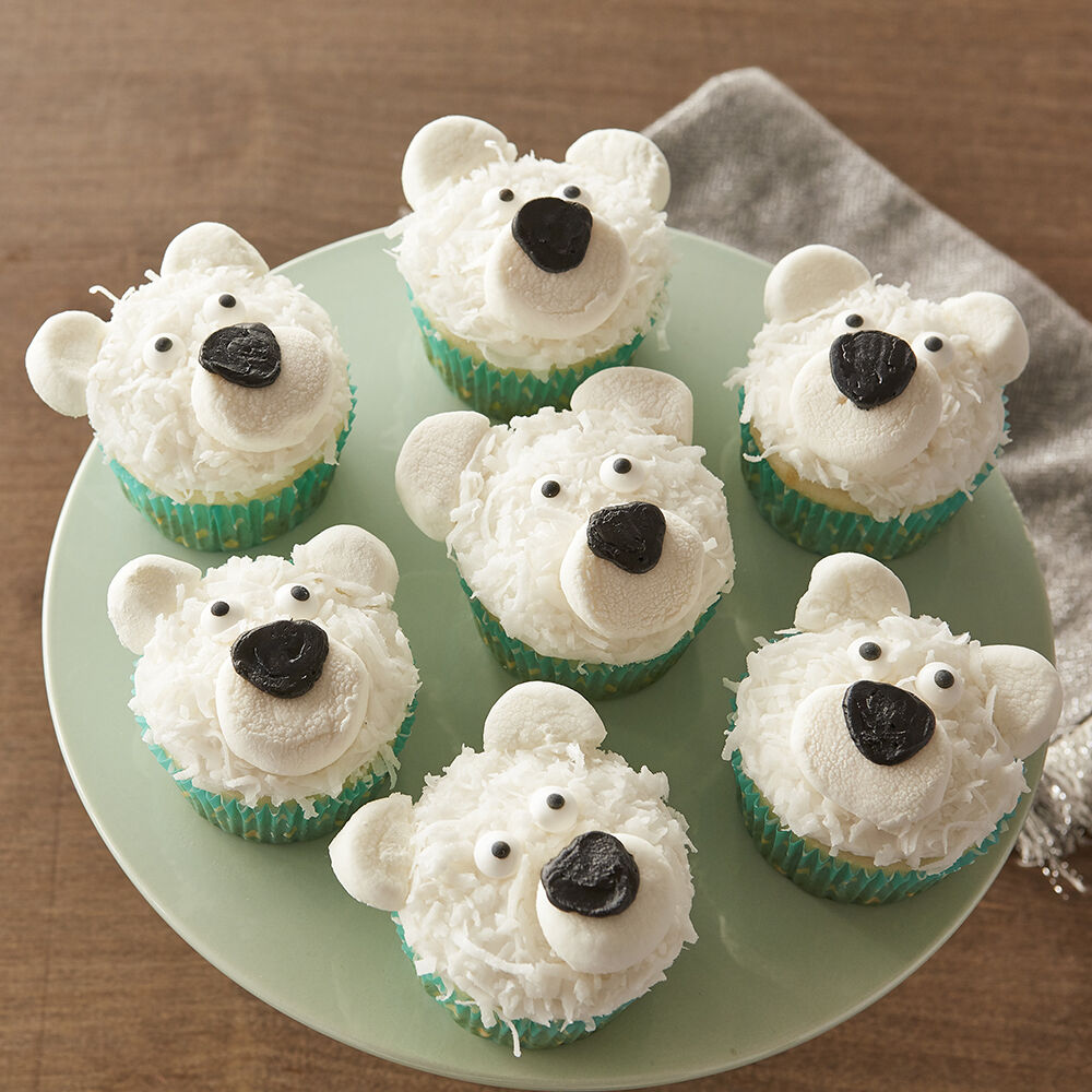 Animal Decorated Cupcakes