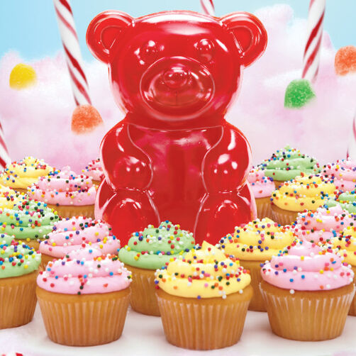 This Gummy's Hungry! Candy & Cupcake