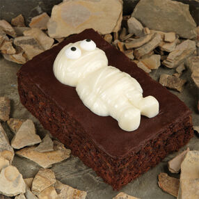 Munch-A-Mummy Brownie