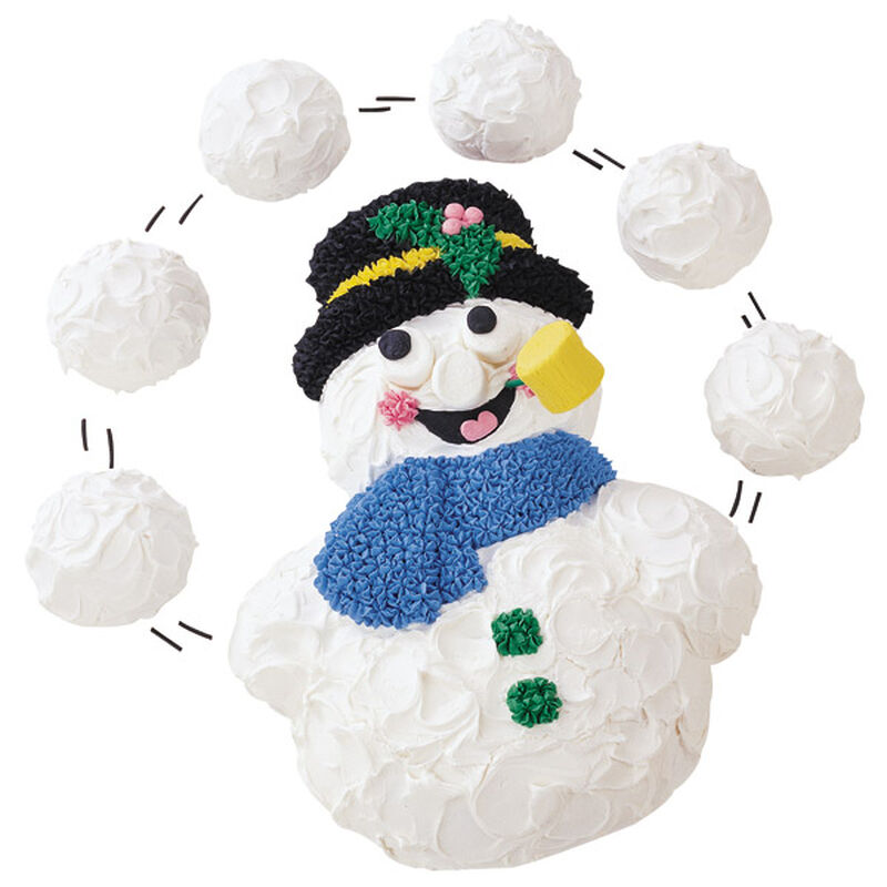 A Snowball Effect Cake image number 0