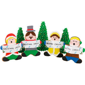 Caroler Melodies Fill the Air Cookies