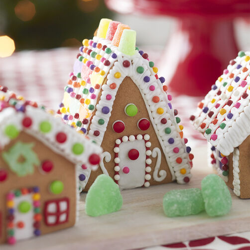 Little Houses Gingerbread House- A-Frame House