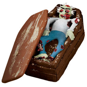 The Zombie Wakes Coffin Cake