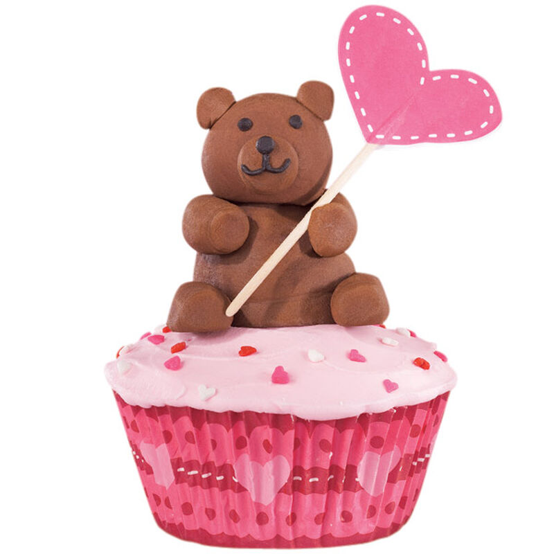 Bear Hugs Valentine's Day Cupcakes image number 0