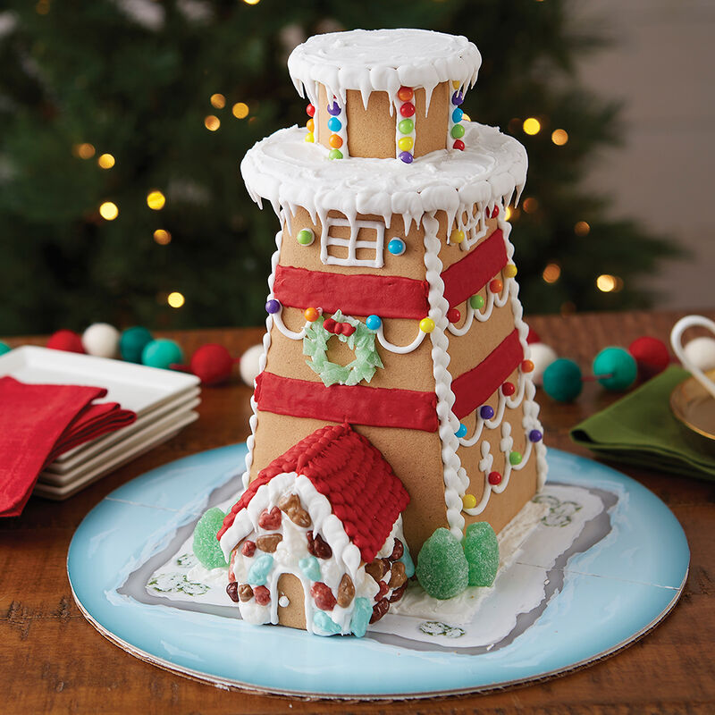 Light the Way Gingerbread Lighthouse image number 0