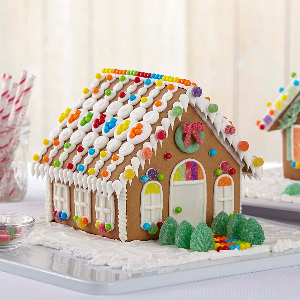 Welcome to Cute Gingerbread House #2   Wilton