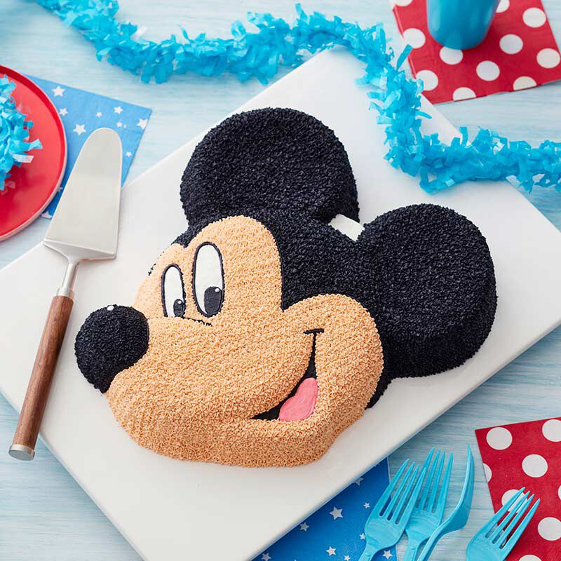 Phenomenal Mickey Mouse Cake Mickey Mouse Birthday Cakes Wilton Personalised Birthday Cards Veneteletsinfo
