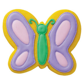 Mellow Yellow Butterfly Cookies
