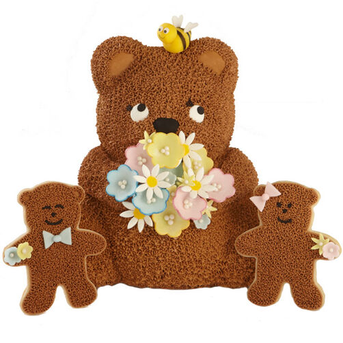 Mama Bear's Bouquet Cake