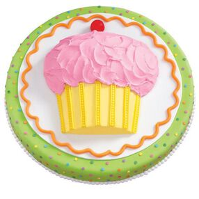 One-for-All Cupcake Cake