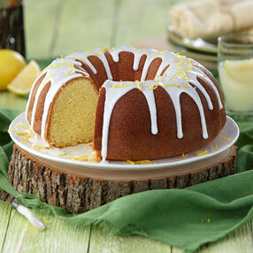 Sweet Meyer Lemon Pound Cake Recipe