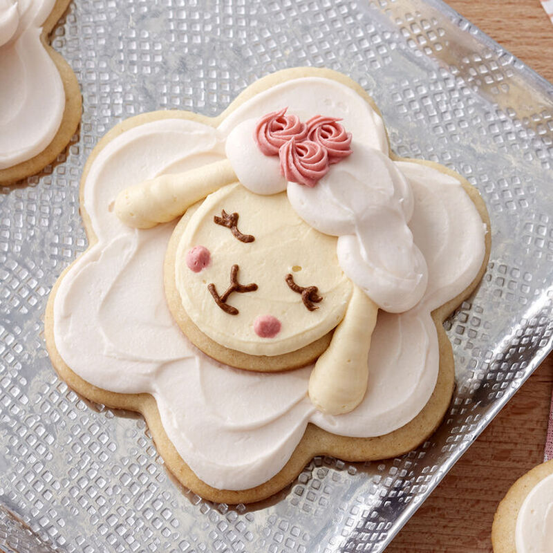 Lamb Decorated Cookie image number 2