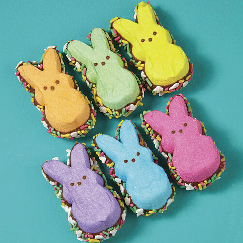 Bottom-Dipped PEEPS Bunnies