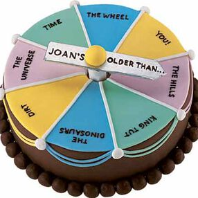 A New Spin on Aging Cake