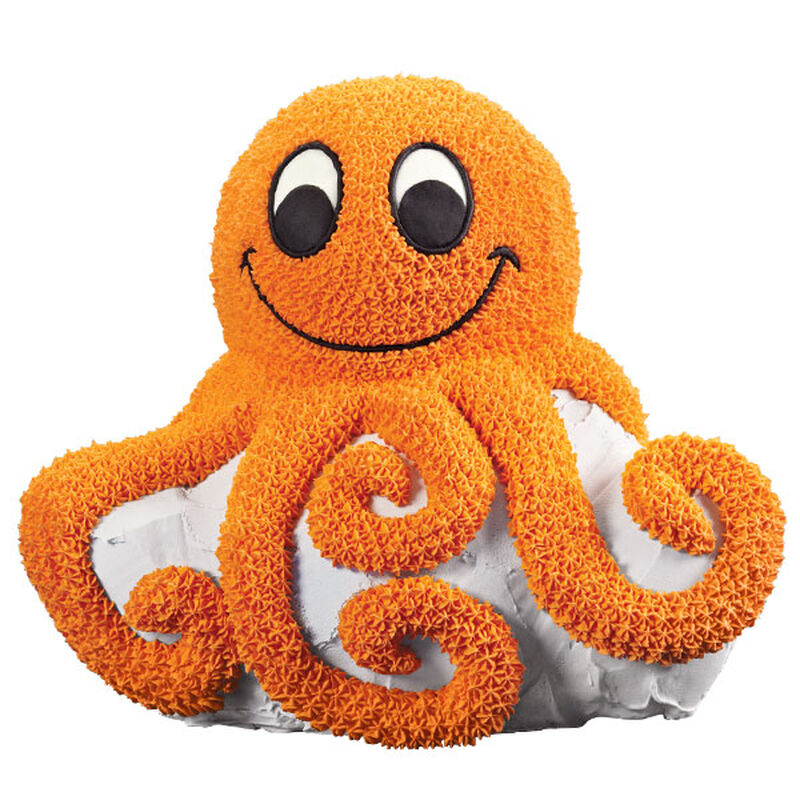 Octopus Parties with Us! Cake image number 0