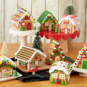Visit Party Town Gingerbread Village