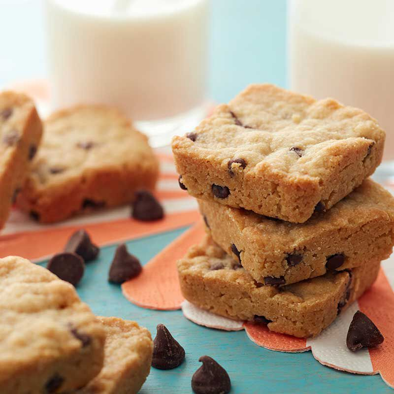 Mini Chocolate Chip Cookie Squares image number 0