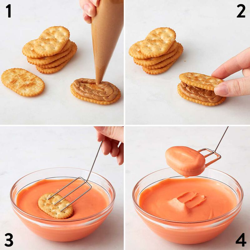 Wilton Peanut Butter Football Crackers image number 1