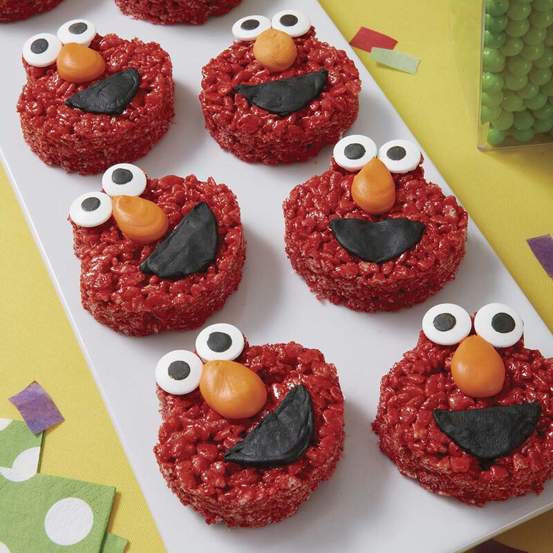 Cereal Treat Elmo Snack image number 0