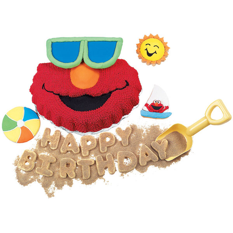 Fun In The Sun With Elmo Cake image number 0