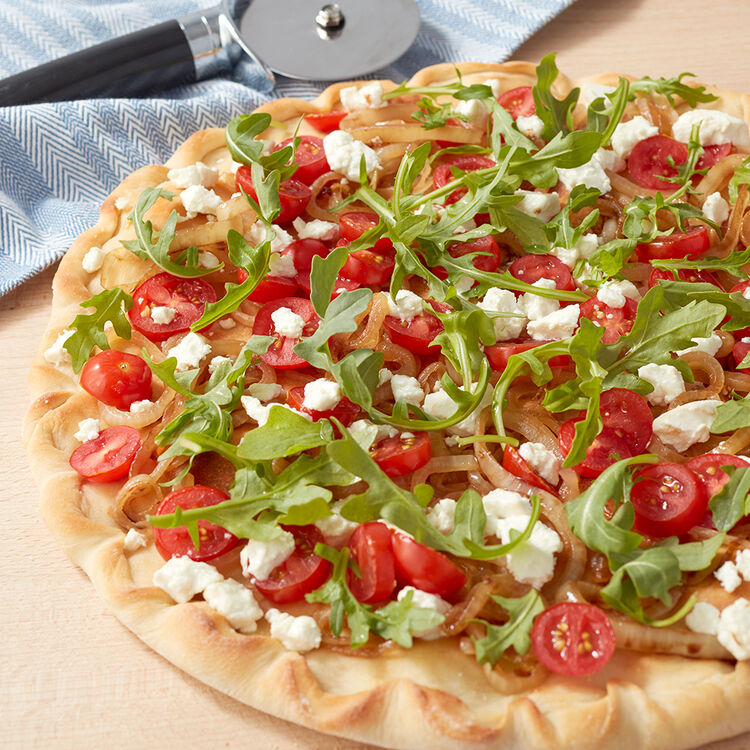 Caramelized Onion and Goat Cheese Pizza Recipe