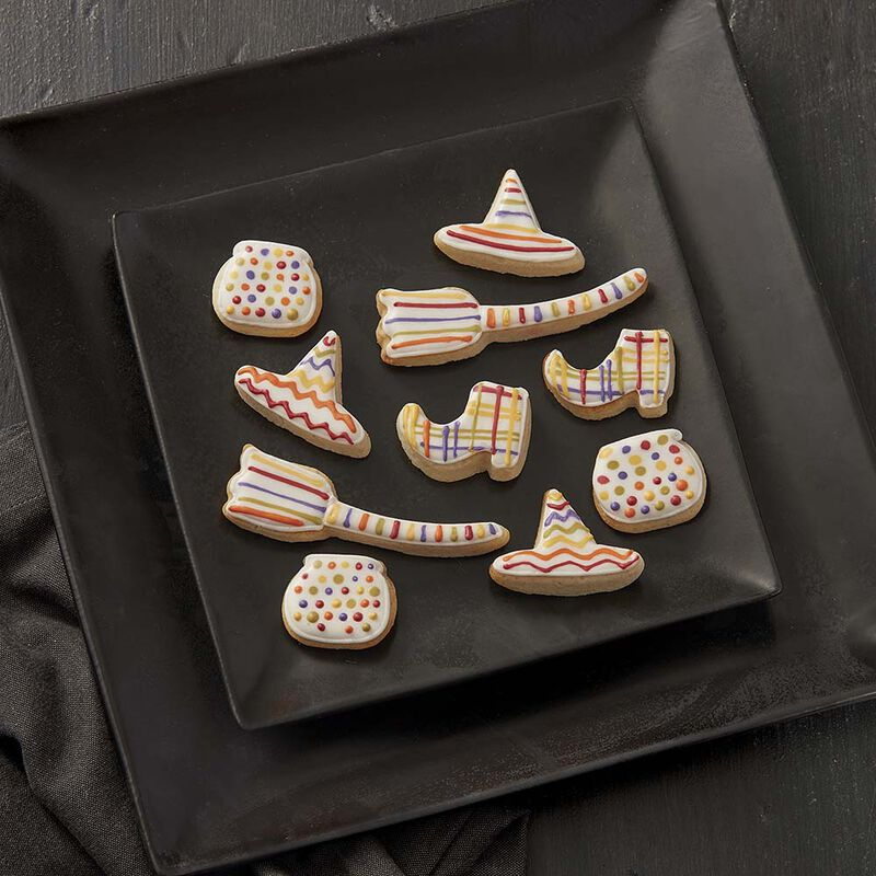 Wickedly Colorful Halloween Cookies image number 0