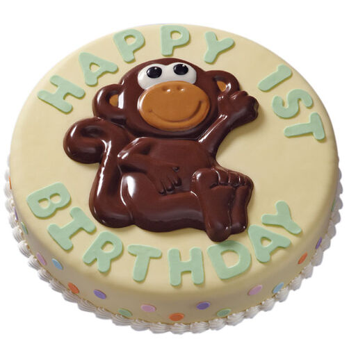 Monkey Messenger Cake
