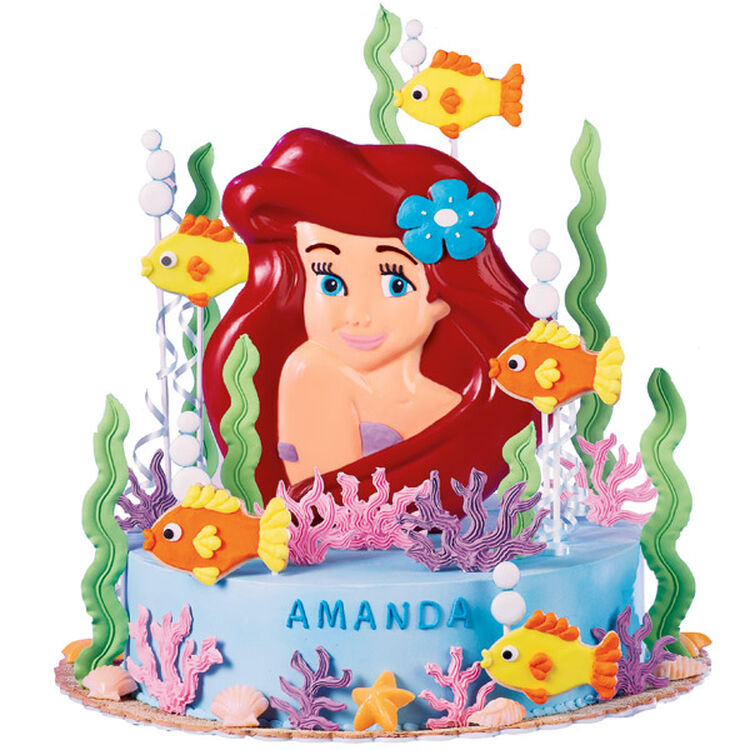 Ariel's Splashy Celebration Cake