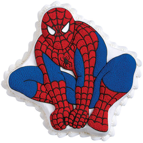 Spiderman Cake Birthday Cake Ideas Wilton