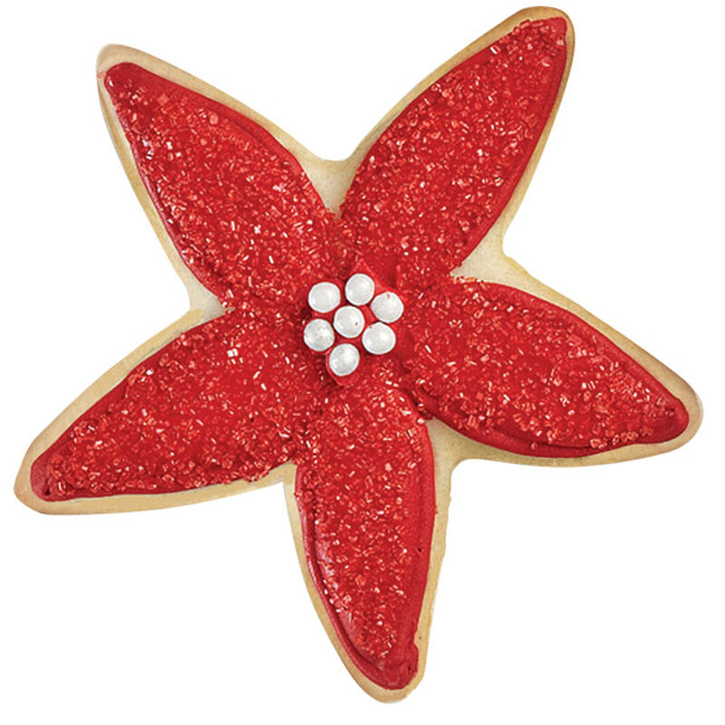 Best of the Season Poinsettia Cookies image number 0