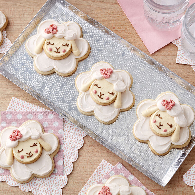 Easter Little Lamb Cookies image number 1