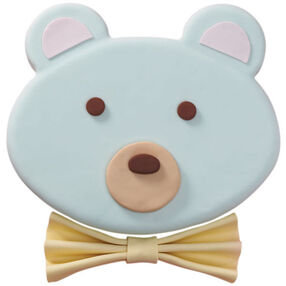Baby Blue Teddy Bear Cake