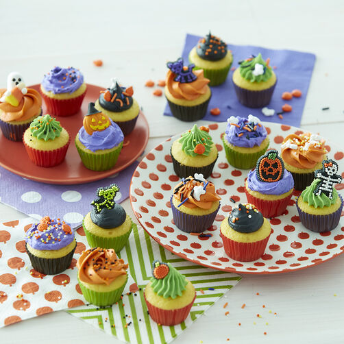 Halloween Mini Cupcakes Halloween Sweet Treats Wilton
