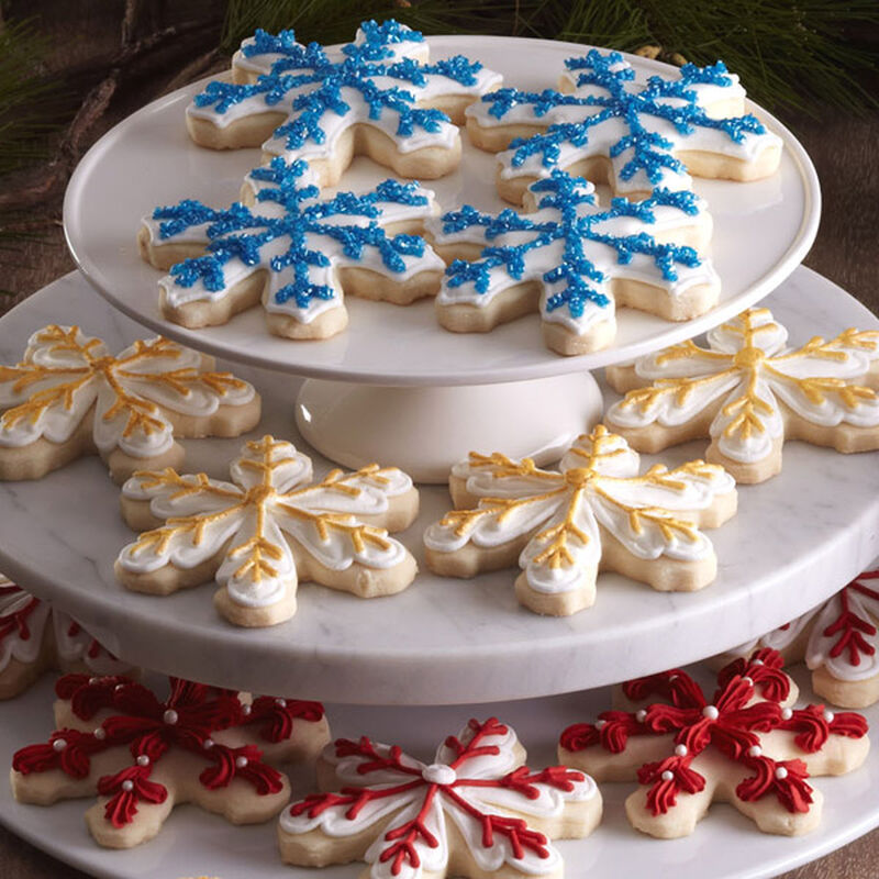 Snowflake Shortbread Cut-outs image number 0