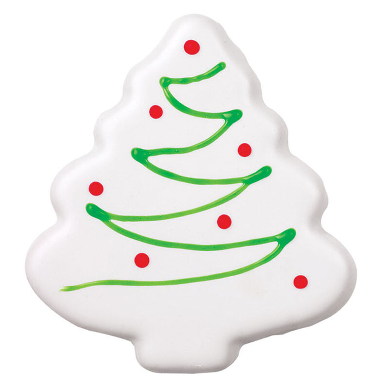 White Christmas Tree Cookie image number 0