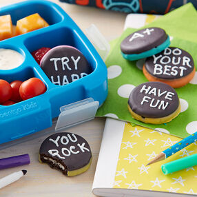 Sweet Messages Sandwich Cookies