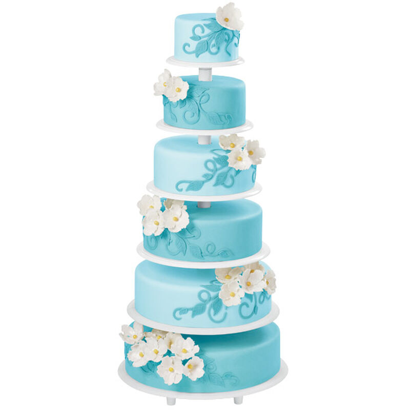 Sky Blue Spectacle Cake image number 0