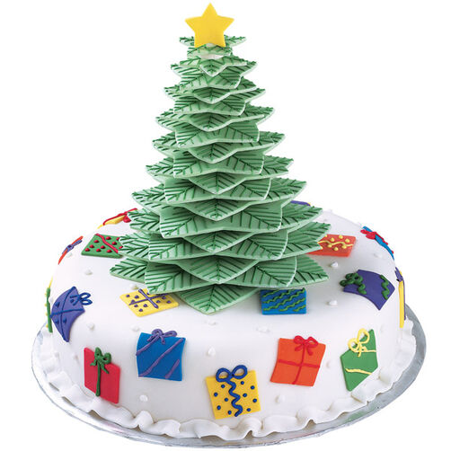 The Gifts Stack Up! Cake