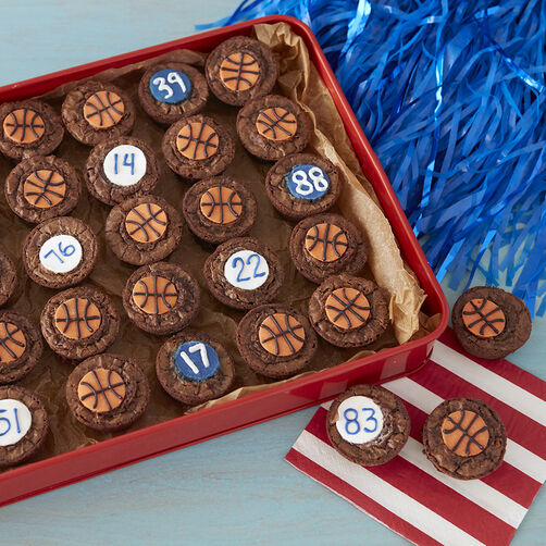 Basketball Brownies