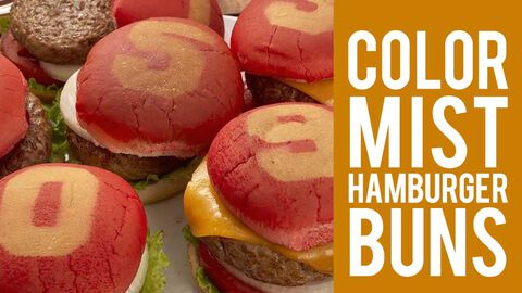 How to Make Color Mist Hamburger Buns