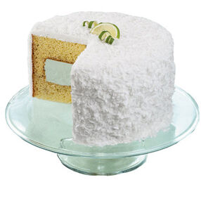 Caribbean Coconut Lime Cake