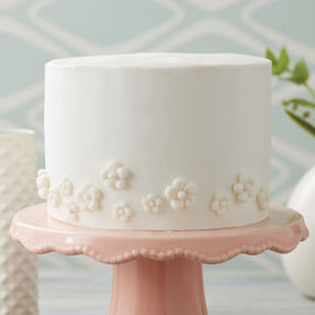 Sweet White Floral Cake