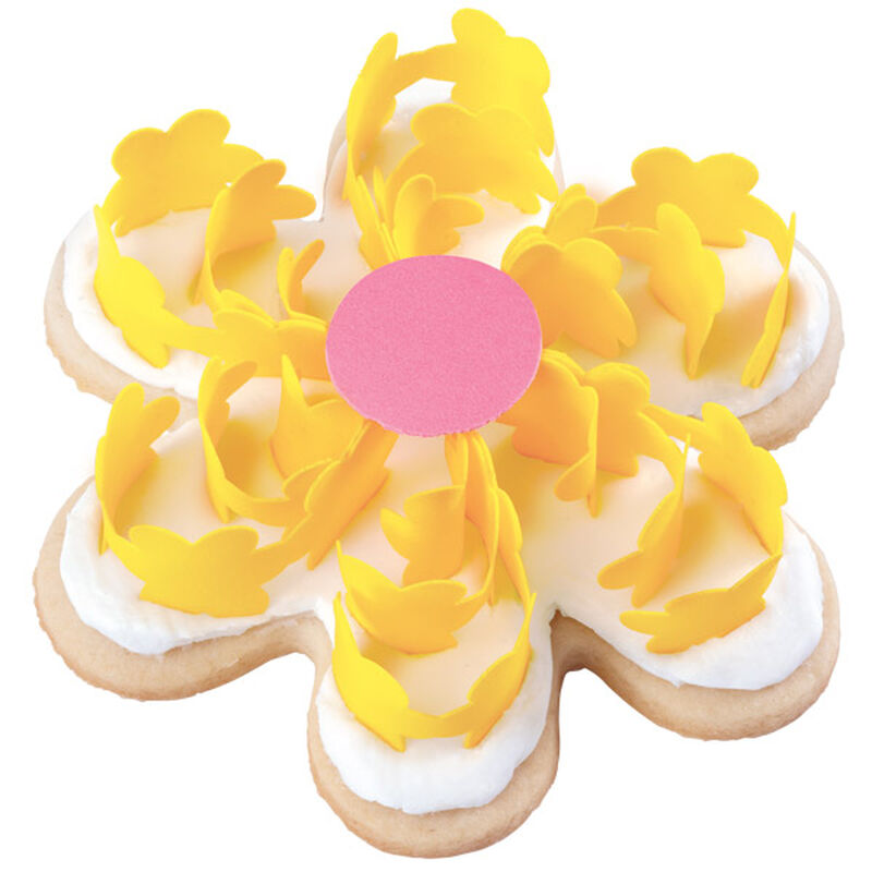 Yummy Yellow Scroll Flowers image number 0
