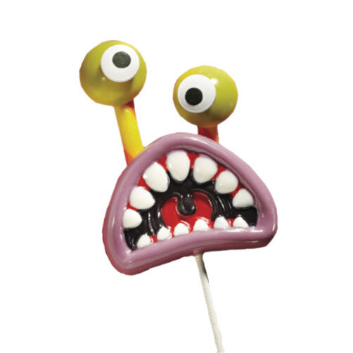 Bug-Eyed Big Mouth Lollipops
